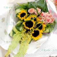 鮮花傳情花束