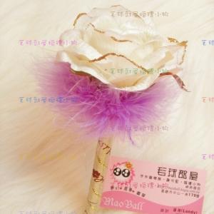 白玫瑰(羽毛)