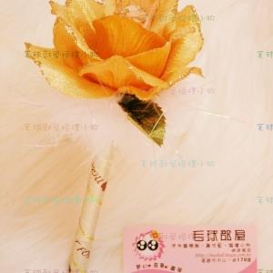 香槟玫瑰(羽毛)