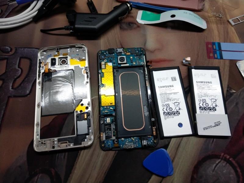 S6 Edge plus 更換原廠電池