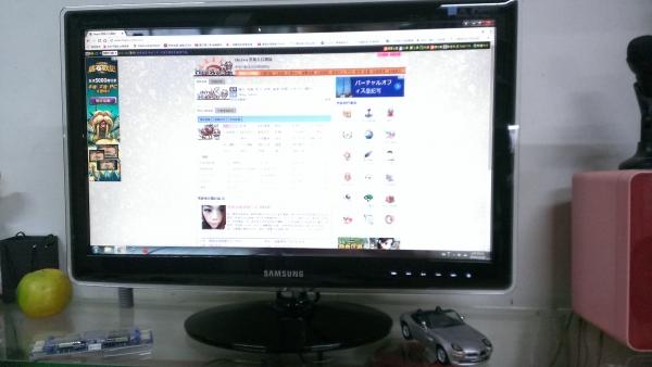Samsung P2370 螢幕全白