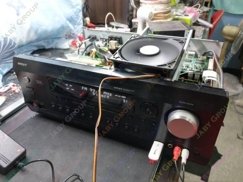 Integra DTR-30.3 7.2 聲道綜合擴大機維修