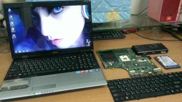 MSI CX620 無法正常開機卡在 BIOS 畫面