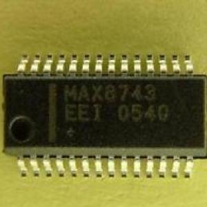 MAX8743EEI 电源管理晶片