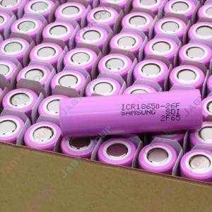 Samsung ICR18650-26F 鋰電池