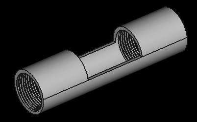 金屬燈具固定底座